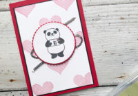 Stampin' Creative Party Pandas Valentine Love and Appreciation Eimear Carvill www.stampincolour.com