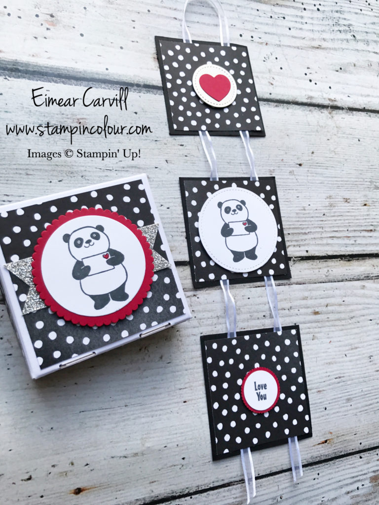 Stampin' Creative Party Pandas Valentine Love and Appreciation